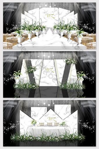صور زفاف أبيض رمادي صور الاداءات الديكور والنموذج قالب PSD