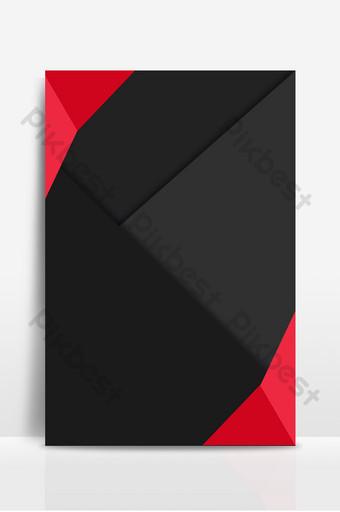 Tekstura tekstura czarne i czerwone wysokiej klasy tło mody Tła Szablon PSD