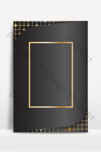 fashion senior gray gold line poster background map Backgrounds Template AI