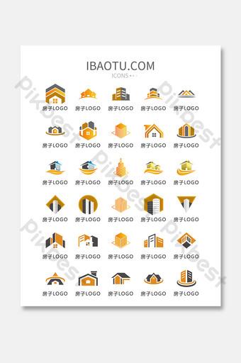 casa tarjeta de visita logo vector ui icono UI Modelo AI