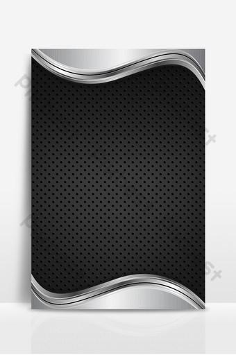 Fondo de textura de negocios de onda de gradiente de plata como fondo de estilo Fondos Modelo PSD