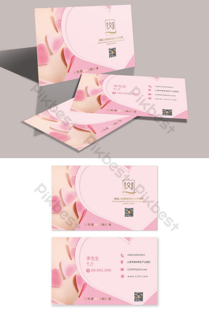 Свежая и простая медицинская визитка для беременных и беременных