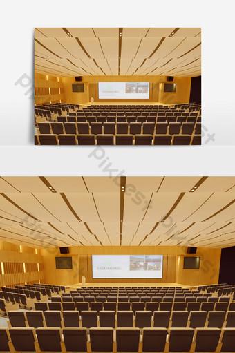 現代小舞台講台元素模型效果圖 裝飾·模型 模板 MAX