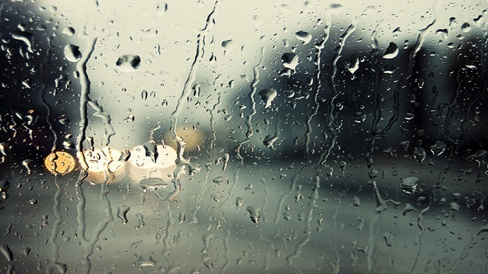 Quiet and beautiful sad rainy day background music | Music template