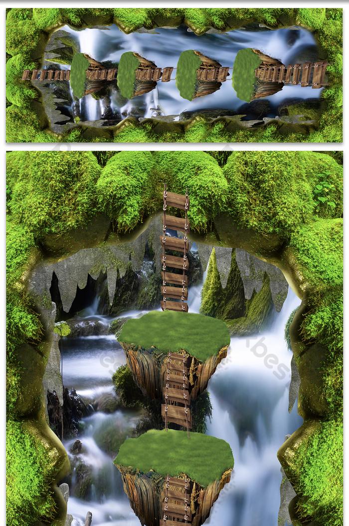 80+ Gambar Air Terjun 3 Dimensi Terbaik