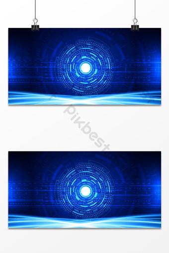 تكنولوجيا الأعمال الزرقاء الحرير الديناميكي الرجل الحديدي خلفية المستقبل خلفيات قالب PSD