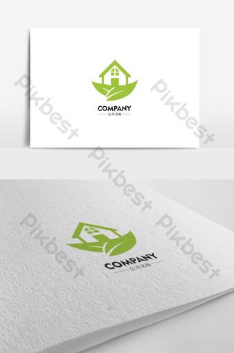 diseño de logotipo de la industria inmobiliaria simple y elegante Modelo AI