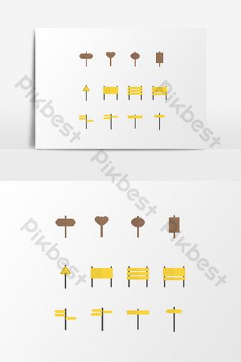 dibujado a mano dibujos animados minimalista señal de tráfico melocotón corazón logo elemento de boda Elementos graficos Modelo AI