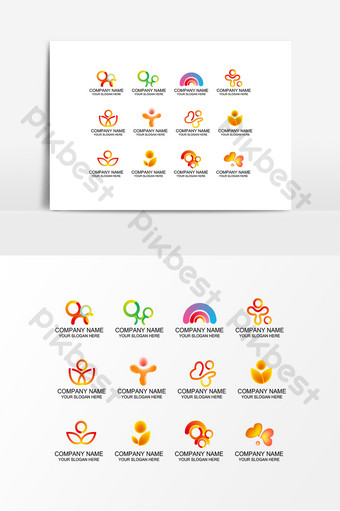 Public health services offer loving care elements PNG Images Template AI