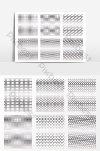 帶紋理的金屬拉絲不銹鋼背景底紋 元素 模板 AI