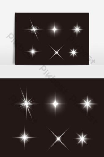 白光效果ai矢量元素 元素 模板 AI