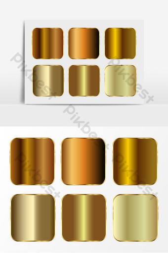 金色閃亮紋理效果ai矢量元素 元素 模板 AI