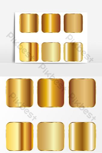 textura de metal dorado ai vector oro Elementos graficos Modelo AI