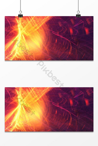 Technology sense abstract brilliant lines gradient modern display board background Template PSD