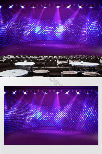 酷音樂dj酒吧夜總會舞台背景牆 裝飾·模型 模板 PSD