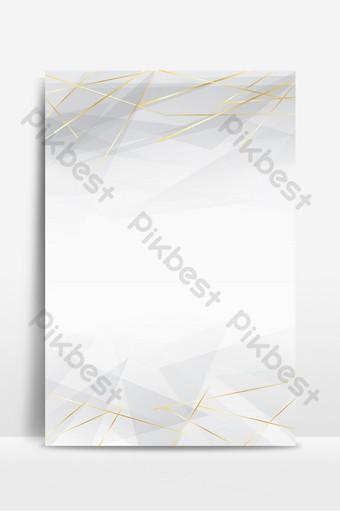 مضلع رمادي هندسي الخط الذهبي الملخص خلفية الصورة خلفيات قالب PSD