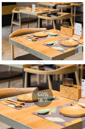 Japanese restaurant seating environment photography pictures Photo Template JPG