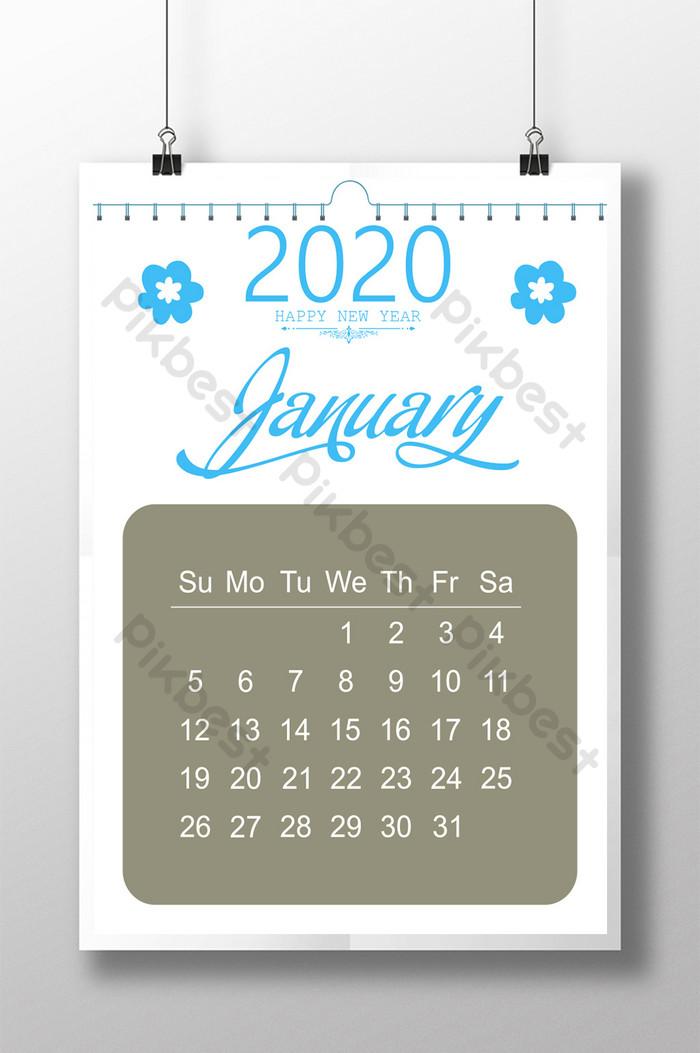 カレンダーデザイン2020 Psd無料ダウンロード Pikbest