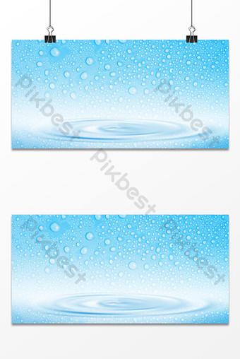 水滴波紋紋理世界水日潑水節背景 背景 模板 PSD