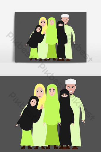 Gambar Kartun Keluarga Template Psd Png Vektor Download Gratis Pikbest