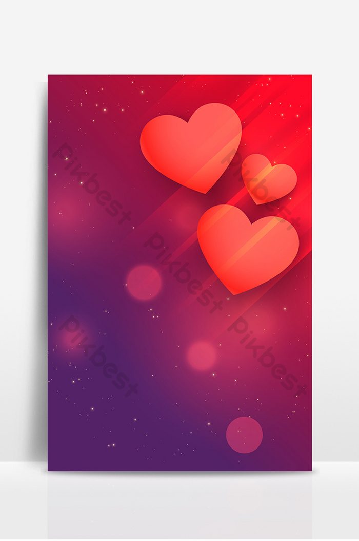 Love Red Poster Background Backgrounds Ai Free Download Pikbest