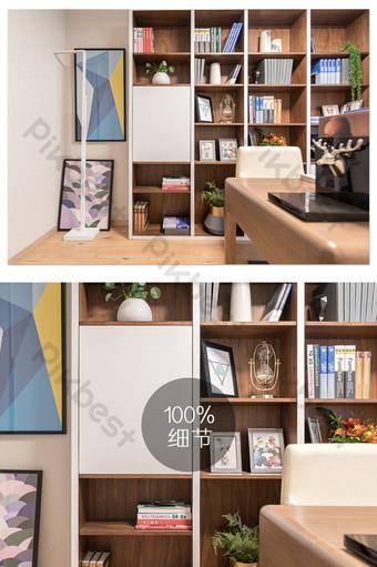Conception de mode de la carte de photographie d'étude immobilière La photographie Modèle JPG
