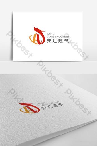 Gambar Template Desain Logo Perusahaan Konstruksi Template Psd Png Vektor Download Gratis Pikbest