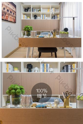 Carte de photographie d'étude immobilière fraîche et élégante La photographie Modèle JPG