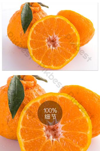 البرتقال القبيح الفاكهة الطازجة القبيح جولة بتلات الأبيض التصوير عالية الدقة صورة كبيرة التصوير قالب JPG