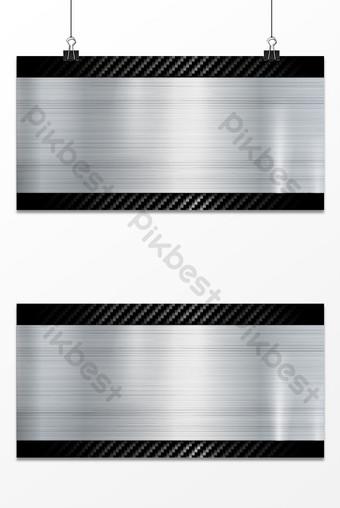 Mapa de fondo de textura de plata cepillada de metal Fondos Modelo PSD