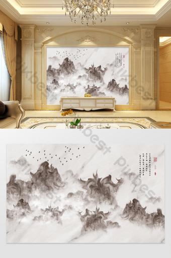 الجاز الأبيض الحجر نمط المشهد خلفية الرخام الجدار الديكور والنموذج قالب TIF