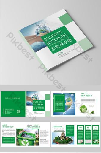 Brochure sur les nouvelles énergies vertes Modèle PSD