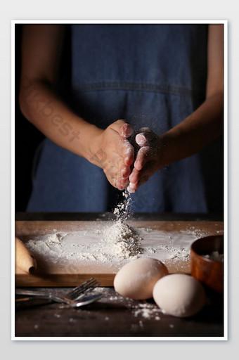 Nướng nấu ăn rắc bột cảnh chụp ảnh cận cảnh hình ảnh Nhiếp Ảnh Bản mẫu JPG