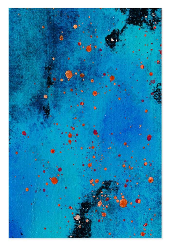 ألوان مائية القوام الأزرق الداكن تصميم الخلفية خلفيات قالب