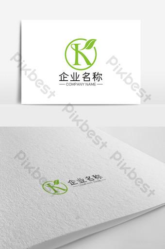 logotipo universal de negocios de letra k creativa de moda simple Modelo CDR