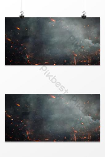雲霧戰爭火簡單醫學紋理背景 背景 模板 PSD