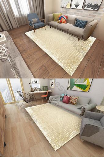 Décoration de tapis à pois de style ethnique turc nordique moderne Décoration et modèle Modèle PSD