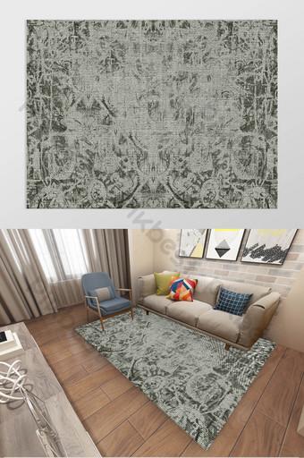 Décoration de tapis de texture exotique turque ethnique moderne Décoration et modèle Modèle TIF