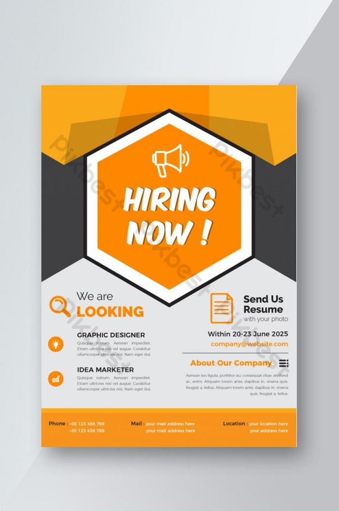 Recruitment Website Template Free Download from pic.pikbest.com