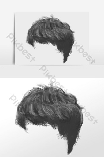 Hairstyle Templates Free Psd Png Vector Download Pikbest