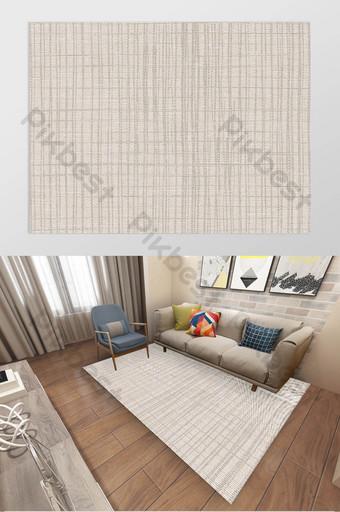 Texture de ligne abstraite moderne Décoration de tapis ethnique turc nordique Décoration et modèle Modèle TIF