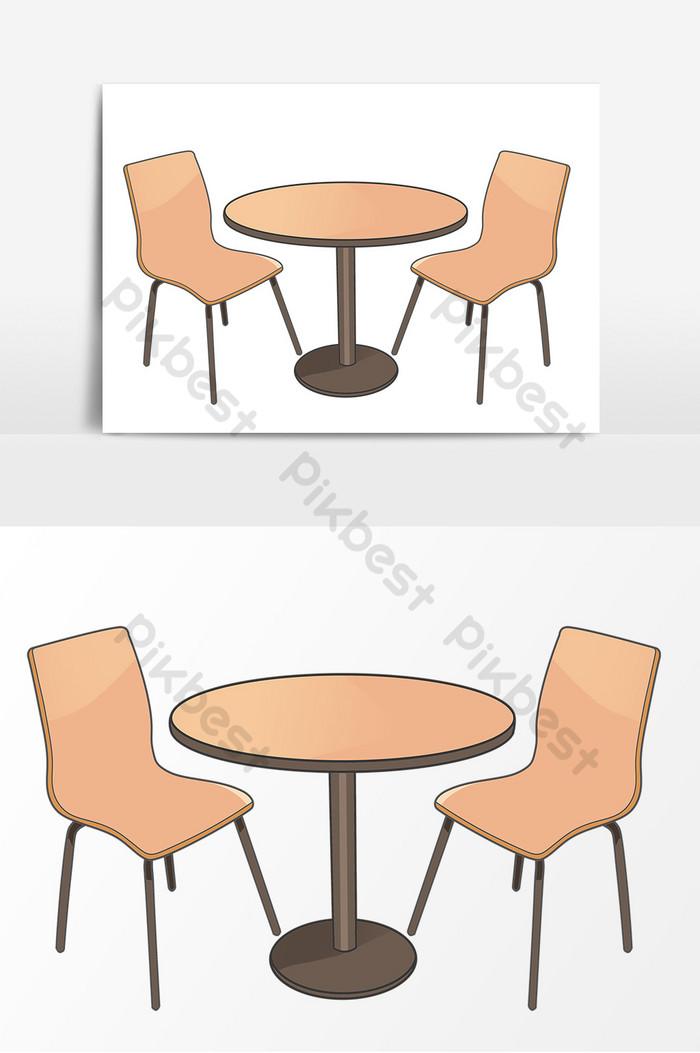 طاولة طعام مرسومة باليد عناصر صورة الكرتون صور Png Psd تحميل مجاني Pikbest