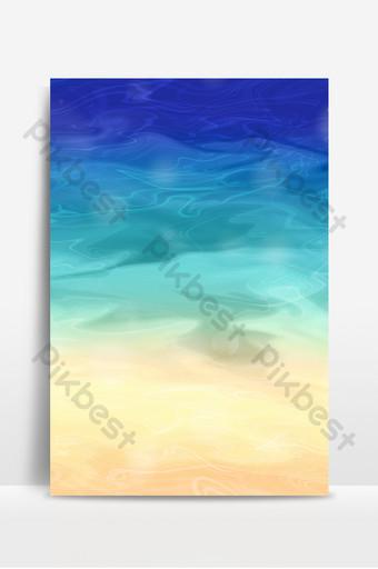Abstract summer sea beach line fluid lixia background Backgrounds Template PSD