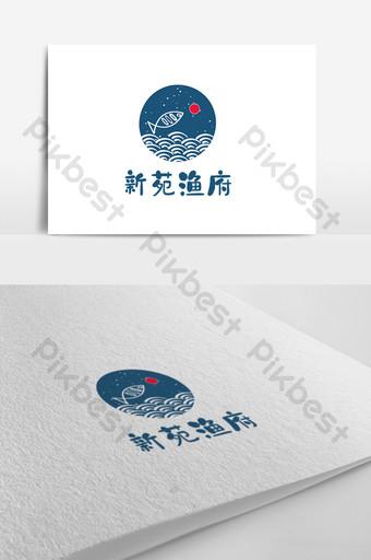 diseño de logotipo de restaurante de estilo chino Modelo AI