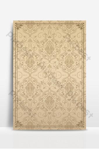 時尚唯美花紋質感文藝廣告海報背景圖 背景 模板 PSD