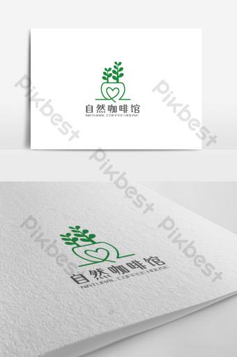 diseño de logotipo de tema de café simple y elegante Modelo AI