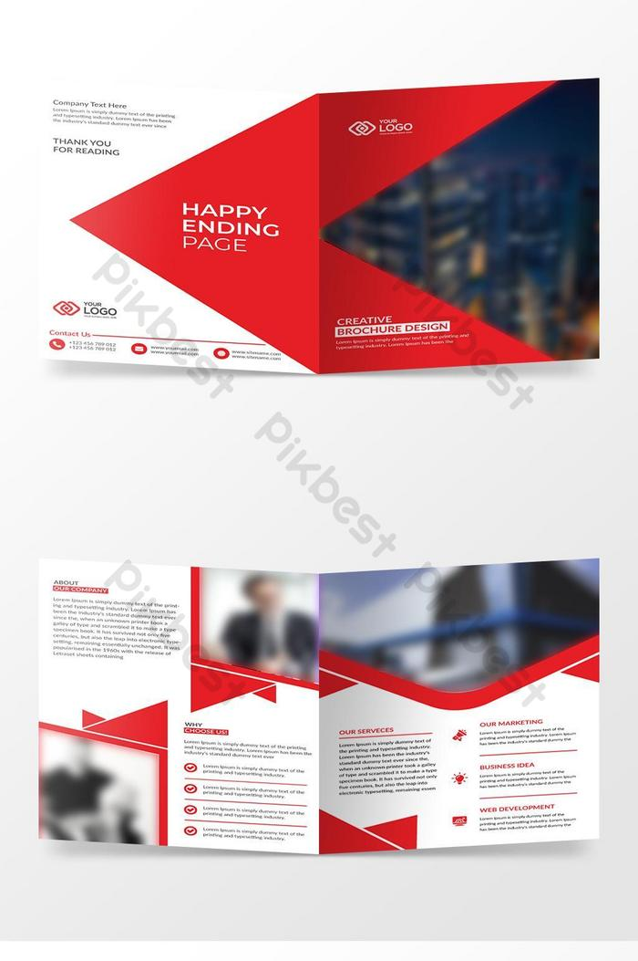 Bi Fold Brochure Design Template Ai Free Download Pikbest,Dining Room Mini Bar Designs For Living Room