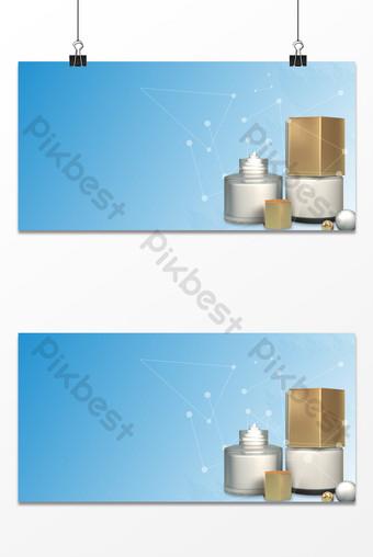 fondo de publicidad de negocios de maquillaje simple y fresco x t Fondos Modelo PSD