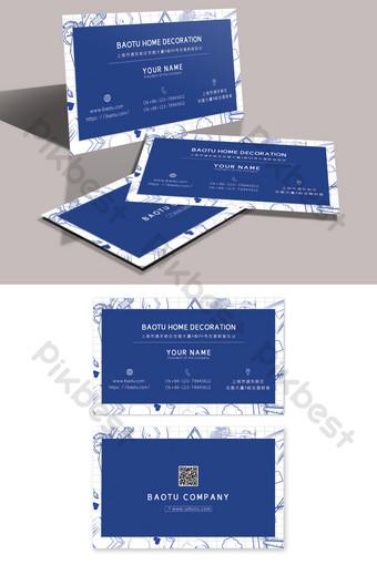 Croquis de mode simple conception de carte de visite de formation de papeterie dessinée à la main Modèle PSD