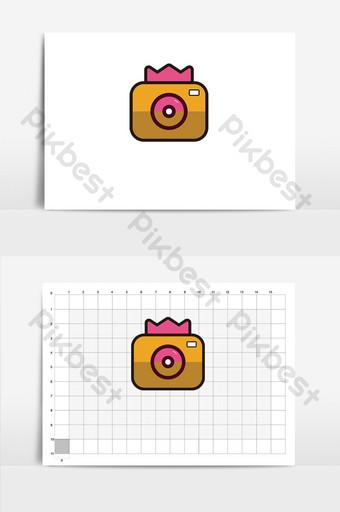 cámara original donut hornear logo vi Modelo AI